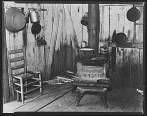 Corner of kitchen in Bud Fields' home Hale County Alabama Walker Evans
