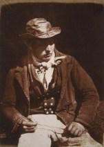 David Octavius HIll & Robert Adamson. Willie Liston redding cleaning or preparing the line. Newhaven Fisherman. (1843-1847)