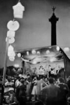 Día de la Bastilla, Plaza de la Bastilla, París 1952 Henri Cartier-Bresson