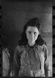 Dora Mae Tengle, Hale County, Alabama walker evans