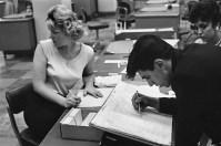 Ensayo %22Bankers Trust Company%22 Nueva York 1960 Henri Cartier Bresson 10