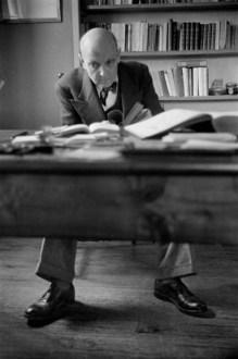 Georges Duhamel, Valmondois, France Henri Cartier-Bresson