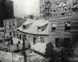 Dwellings of Death. c1880-90s. Jacob Riis