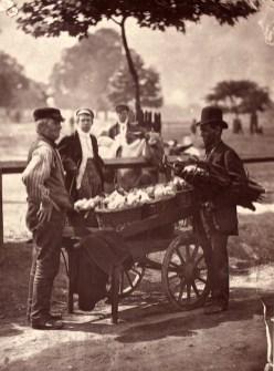 John Tomson. Mush fakers and ginger beer makers. (ca. 1873)