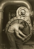 "Lewis Wickes Hine, ""Powerhouse Mechanic"", 1920, Gelatin silver print"