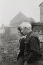 Max Ernst and Dorothea Tanning, Huismes, France 1955 Henri Cartier-Bresson