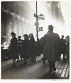 Rebecca Lepkoff. Early Morning Rush, 1947