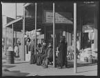 Sidewalk scene in Selma Alabama Walker Evans