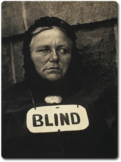 Blind, 1916 © Paul Strand