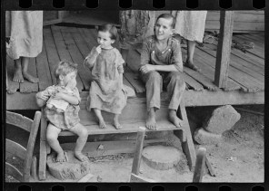 Tengle children, Hale County, Alabama walker evans