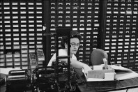 "Bankers Trust, New York "". Henri Cartier-Bresson"