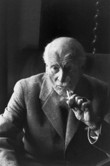 1961 Carl Jung, Küssnacht, Suiza. Henri Cartier Bresson