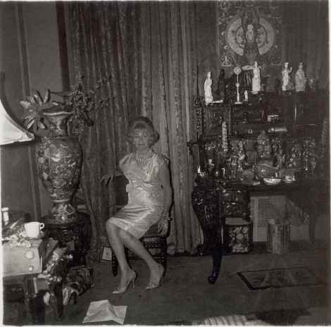 A widow in a bedroom, N.Y.C., 1963 Diane ARbus