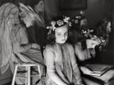 Niñas con disfraz de hadas. Nuew York. 1938 © André Kértesz