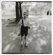 Child with a toy hand grenade in Central Park, N.Y.C. 1962 Diane Arbus