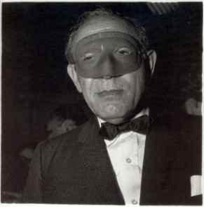 Masked Man at the Ball, N.Y.C., 1967 Diane Arbus