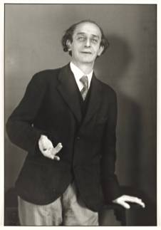Touring Player 1928-30 by August Sander 1876-1964