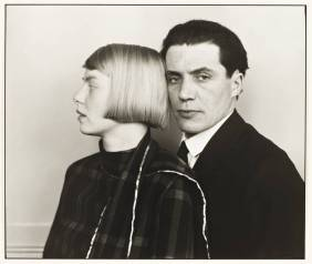 The Architect Hans Heinz Luttgen and his Wife Dora 1926, printed 1990 by August Sander 1876-1964