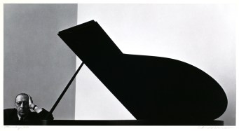 Arnold_Newman_Igor_Stravinsky
