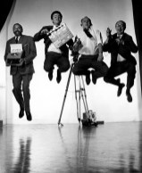 fritz-gruber-writer-and-the-crew-jumping-on-set