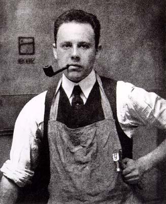 Paul Strand. Retrato por Alfred Steiglitz (1917)
