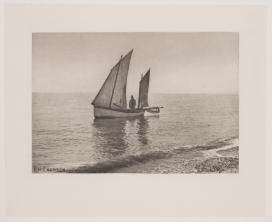 Peter Henry Emerson – Mañana brumosa en el mar del Norte – 1887