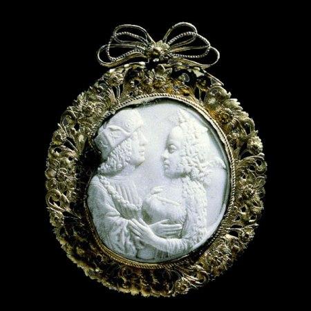 Camafeo. Francia, finales del siglo XV (marco, siglo XVII)