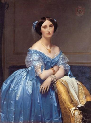 Princesa de Broglie. Jean Auguste Dominique Ingres (1851-53)