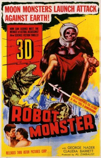 Robot Monster (Phil Tucker, 1953). Considerada una de las peores películas de la historia.
