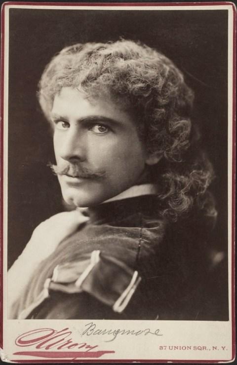 Maruice Barrymore. Napoleón Sarony
