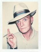 Truman Capote, Polaroid, Andy Warhol