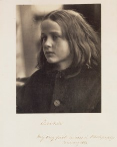 "Julia Margaret Cameron. ""Annie - My very first success in photography"" 1864"