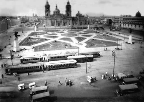 Zócalo. Ciudad de México, 1923