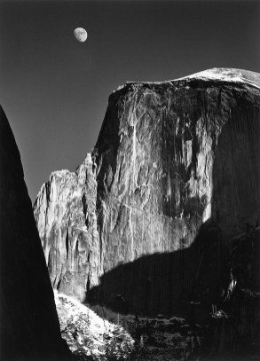 Ansel Adams. Half Dome, Yosemite