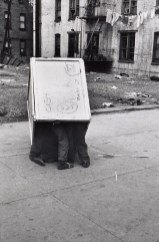 New York City (Three Boys in Box), 1945