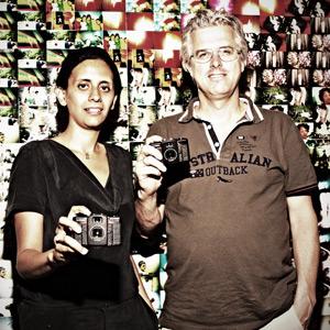 Matthias Fiegl y Sally Bibawy