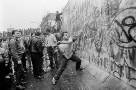 Derrumbamiento del muro de Berlín