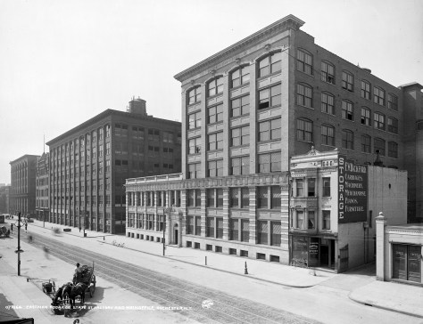 Oficina principal de la Eastman Kodak Co. en 1900