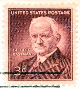 George_Eastman_estampilla