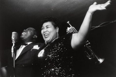 Louis Armstrong y Velma Middleton, 1954
