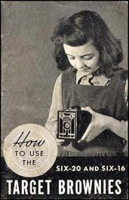 Portada del manual de una Kodak Brownie