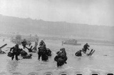 """Segunda Guerra Mundial. Desembarco en Normandía (Día """"D"""")"""