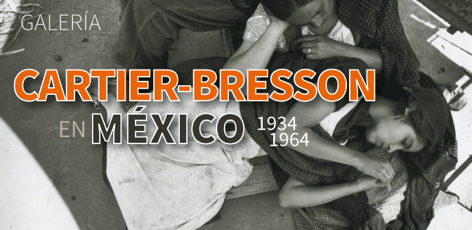 Galería: Henri Cartier-Bresson en México