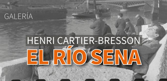Henri Cartier-Bresson, El Río Sena (Galería)