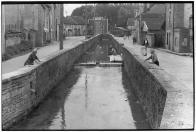 Champagne-Ardenne. Aube. Mussy-sur-Seine. 1955.