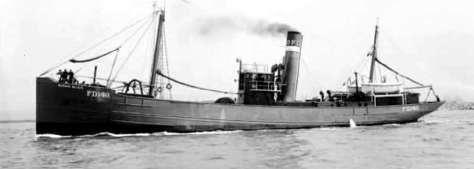 El navío de matrícula frances