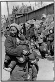 CHINA. Shanghai. 1949. Refugiados.