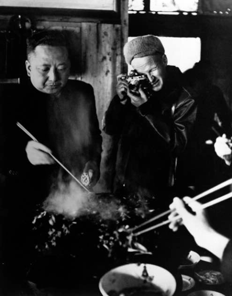 Henri Cartier-Bresson en Beijing (1948) © Magnum Photos