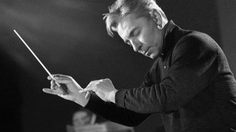 Herbert von Karajan en 1976. Foto © Bettmann/Corbis