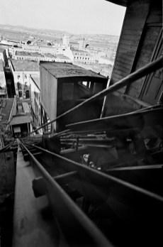Sergio Larrain. CHILE. Valparaiso. From the 'Ascensor Cordillera'. 1963.